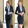 Novelty Gray Long Sleeve Autumn Winter Career Blazer Coat Formal Professional Ladies Slim Fashion Jackets Coat Outwear Uniforms игрушка ecx ruckus gray blue ecx00013t1