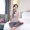 Xi Luo Man Содержит Взрослый сексуальное женское белье Nightgown плотный сексуальный костюм см ролевые игры XL код костюм le frivole готическая вампирша s m