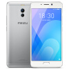 Meizu M6 note 3ГБ + 32ГБ серебристый смартфон meizu m6 note 3гб 32гб шампанско золотой смартфон