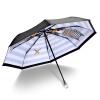 где купить iRain Umbnella УФ солнечный зонт складной зонтик складной зонт три зонтик зонтик синий кристалл кролика пират по лучшей цене