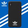 Adidas Apple iPhone X Новый Shamrock Classic Drop Мобильный телефон All-in-One Case Cover PU применим к Apple iPhone 10 Black телефон apple iphone 7 32gb a1778 как новый black