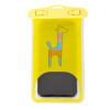 C & C телефон водонепроницаемый мешок яблоко 7 / 6plus плавание плавать спа крышка универсальная камера водонепроницаемый сенсорный экран мультфильм желтый дождь куртка 6s
