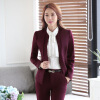 Formal Elegant Wine Long Sleeve 2016 Autumn Winter Formal OL Styles Blazers Jackets Coat Ladies Blazer Female Tops Outwear cute 3d dog style protective silicone back case for iphone 5 brown yellow