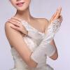 Свадебные платья кружевные перчатки белый длинный абзац невесты этикета перчатки женские свадебные аксессуары цены онлайн