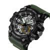2017 военные часы мужчины водонепроницаемые спортивные часы роскошь часы в поход погружение Relogio Masculino