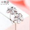 Кади Ло женский цветок серьги 925 серебряные серьги серьги ювелирные изделия Япония и Южная Корея ювелирные серьги krasnoe серебряные серьги