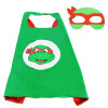 2pcs/set Superhero Carnaval Party Mask Role-play cloak Cape Mask Owlette Catboy Gecko Pajamas Cosplay Action Toy