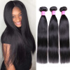 Bling Hair Malaysian Straight Hair Bundles 3 Piece No Shedding Malaysian Hair Weave hot sale malaysian straight hair 1bpink