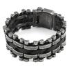 2017 Новый браслет из натуральной кожи браслет из нержавеющей стали Браслет из браслетов