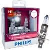 PHILIPS Автомобильная фара H1 / H4 / H7 Автоматическая передняя лампа Автомобили Противотуманные фары (2 ПК) 130% Лучшая производи s2 h4 пара автомобильных светодиодных фары 9 30v 72w 6000k передняя лампа 2шт