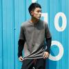 Оригинальные поддельные японские мужские свитера с двумя круглыми шеей из мужского свитера