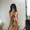 3-цветная дополнительная машина для ношения разнообразного платья с коротким рукавом с коротким рукавом