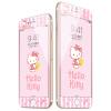 Hello Kitty сталь фильм Яблоко 8Plus / 7Plus iPhone8Plus / 7Plus углеродного волокна мягкой односторонней цветной пленки телефон защитная пленка раннем Kaidi
