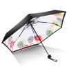 где купить iRain Umbnella легкий карманный зонтик ВС зонтик УФ зонтик складной зонт пять складной зонт зонтик белый лимон по лучшей цене