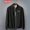Куртки из джипа с полетом Battlefield Мужчины Комплект куртки для бейсбола Комфорт Мужская повседневная тонкая куртка 17121Z7004 Черный 4XL куртки анна чапман куртка