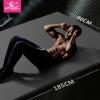 Ким-ла-ла-йога коврик 185 * 80 см удлиненный расширяющийся утолщение 12MM спортивная площадка для фитнеса, чтобы отправить сетку серого цвета
