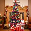 Эва Лав пакет 1,5 м елки украшенные елки пакет шифрования в сочетании с роскошными красными огнями