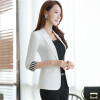 Blazer female 3/4 sleeve plus size work wear slim formal single button blazer 2017 new arrival new arrival single board tcs cdp pro plus generic 3 in 1 new nec relays bluetooth 2014 r2 2015r3 with keygen tool free shipping