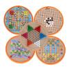 Ai Buding детские игрушки могут быть универсальные пять-в-одном шахматы шашки полет шахматы головоломки игрушки для мальчиков и девочек корона игрушки 4 в 1 многофункциональные детские игрушки дома головоломки столы foosball столы в цвете шайба самолет шахматисты 267 4d