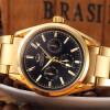 CHENXI Золотые часы Мужские часы Лучшие бренды Роскошные наручные часы Золотые кварцевые наручные часы Мужские элегантные часы