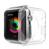 Shengdi Вэй (Sendio) Apple Часы Apple, смарт-часы прозрачный защитный чехол для Apple, Watch1 поколения / iWatch38 38mm1 поколения силиконовые оболочки