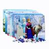 Toy Box 40 Frozen принцесса головоломки образовательные игрушки Диснея для детей 3-6 лет (древние головоломки Министерства девушки Шесть) 15DF2918 игрушки для детей от 3 лет