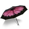 parkson супермаркет] [джингдонг блэк зонтик виниловые зонтики зонтик вс зонтик уф зонтики 5384 г жа дай фиолетовый зонтик от солнца iRain Umbnella УФ складной зонтик зонтик зонтик три складной зонтик виниловые зонтики кристалл вишня