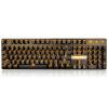 -Benz (Sades) Фильмы Feng металл монохромный клавиатура с подсветкой Компьютер игровой автомат периферия Wrangler стиль дома проводной клавиатуры (черный черный вал оранжевый) тягач 1 14 benz actros черный