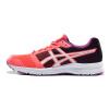 Asics ASICS амортизирующие дышащая обувь кроссовки женские спортивные туфли ПАТРИОТ 8 T669N-2001 розовый / белый / фиолетовый 37.5 ярдов