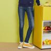 Semir (Semir) 2017 осень новый женские джинсы женщина была тонкой брюки Корейский тонкий брюки ноги волна 11316240004 Б.Ф. ветер брюки темно-синие джинсы 26