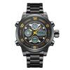 2017 Горячие продажи Лучшие роскошные бренды Аналоговые цифровые часы Мужчины привели Полностью Мужчины Мужчины Часы Мужские Военные Наручные часы Кварцевые Спортивные Ват часы