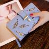 Dalfr PU кожаный бумажник Для женщин Роскошная женская клатч Мода кожаный кошелек дизайнерские Сумки высокое качество дамы Сумки