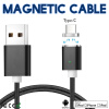 Keymao Magnetic Phone kabel data Type-C Micro USB Charger Cable for iPhone 7 7 plus 6 6s Plus iPad Samsung S6 S7 S8 plus keymao magnetic phone kabel data type c micro usb lighting charger cable 3 in 1 for iphone ipad samsung