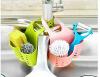 Висячий силиконовый держатель для хранения гаджетов для кухни, держатель для слива для губки для кухни