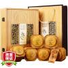Тигр Run Чай черный чай Wu Йишен Джин июня Mei чай 300г подарочные коробки благословение