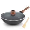 Joyoung wok 30 см. Кухонная посуда с кукурузным кукурузным кухонным оборудованием CLB3053D посуда кухонная