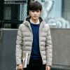 Зимняя мужская хлопчатобумажная куртка с капюшоном мужская хлопчатобумажная куртка мужская длинная мужская одежда крупногабаритная хлопчатобумажная одежда