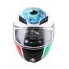 AGV K3 TOP шлем мужской и женский шлем анфас шлем бежать итальянский гоночный мотоцикл езды шлем VALENTINO'S EYE XL d38999 26tf18pn lc circular mil spec 18p strg cbl mr li