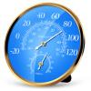 Юху З (Yuhuaze) большая точность набора гигрометр закрытый термометр / гигрометр может быть размещен вертикально подвешивал гигрометр психометрический в отрадном районе