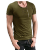 Male 2017 Brand Short Sleeve Zipper Solid Color T Shirt O- Neck Slim Men T-Shirt Tops Fashion Mens Tee Shirt T Shirts 3XL FGH male 2017 brand short sleeve solid color novelty t shirt o neck slim men t shirt tops fashion mens tee shirt t shirts hj