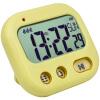 Student Alarm Clock Digital LCD Travel Clock Kitchen Timer Countdown Snooze Full Vision Vibration Table Clock Loud Alarm 3 Alarm ey products e my creative wood table clock khaki 1 x aa