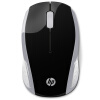 Hewlett-Packard (HP) HP200 беспроводная мышь портативный дом / офис ноутбук / серебро мышь hewlett packard hp 600 shadow эльфы мышь игры мышь игровая мышь проводная мышь