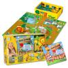 Красный Кенгуру мой город серии 64 полноцветный сборник рассказов зоопарк тема головоломка деревянная кукла раннего детства обучающие игрушки Подарочный набор набор свеч подарочный 6 см красный