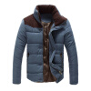 New Jacket Men 2017 Hot Sale Thick High Quality Autumn Winter Warm Outwear Brand Coat Casual Solid Male Windbreak Jackets hot sale winter jacket men fashion cotton coat warm parka homme men s causal outwear hoodies clothing mens jackets and coats