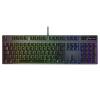 Rapoo V806 104 оси Omron механическая клавиатура ключ RGB клавиатура с подсветкой геймпад клавиатура игровой клавиатуры черный цыпленок клавиатура беспроводная rapoo e9110 usb черный