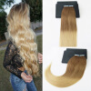 14-24 20Pcs 50G Per Package Brazilian Remy Hair 2Pcs/Lot Ombre Color Full Set Skin Weft Hair Extensions Free Shipping 2pcs set 14