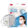 3M маски KN90 9002V анти-туман и дымка пыли PM2.5 есть клапан выдоха UNISEX 3 / мешок