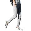 Весной новый прилив 2017 разрифованный пучок ноги спортивные брюки пар брюки фитнес-брюки стопочка спортивные брюки мужчин и женщи