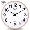 Cntomlv 14 - дюймовый моды настенные часы спальни, гостиная просто управление Mute часы за творческие кварцевые часы