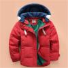 WEONEDREAM Новый толстый мальчик вниз куртка съемный кепка ребенка пуховик